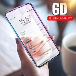 6D Protector Vidrio para iPhone 7 6 Xs Max Protector de pantalla crystal curvado para iPhone 6 S 7 8 Plus X 10 XR