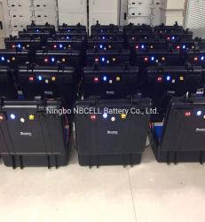 保証 5 年間の 4S LiFePO4 セル 12V 1.54kwh 120AH ソーラーポータブル 電源