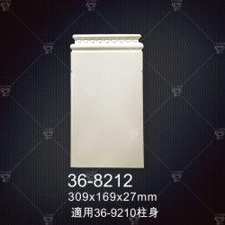 Наружные и внутренние водонепроницаемый декоративная Urn с плоский дизайн Onlays декоративных Rosette для систем двери
