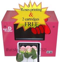3 Roses máquina de impressão de pregos e Rose Impressora