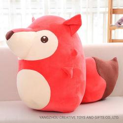 美しいデザイン新しいプラシ天Foxのおもちゃの柔らかい原料の漫画Foxのおかしいプラシ天動物