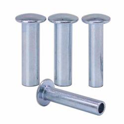 Meilleur gros en Chine Fabricant OEM plaqué zinc Semi rivet tubulaire creux