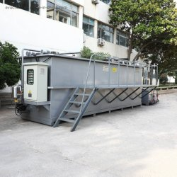 Tssおよびオイルの取り外しのためのシーフードの進歩の廃水処置Dafシステム