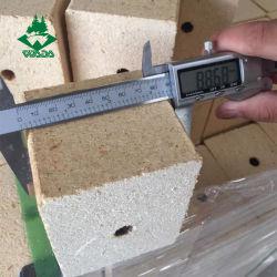 おがくずのブロックパレットフィートに使用する木チップブロック