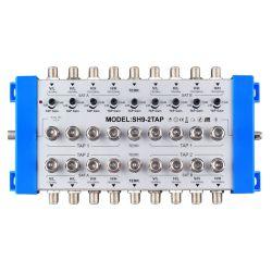Toque CATV interior/Separador de forma 9 torneira CATV com preço de fábrica
