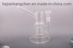Изделия из стекла Heat-Resistant боросиликатного стекла ручной работы дымовые трубы