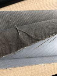 Haute température E-verre recouvert de téflon 780gsm en fibre de verre tissé texturée de tissu filtrant