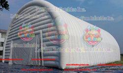 Leyuanの新しい長方形の膨脹可能な空気は膨脹可能な空気建物を構成する