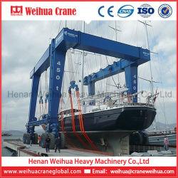 Weihua die de Hydraulische Elektrische Kraan van de Brug van de Boot Opheffende reizen