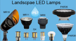 RGB IP67 LED PAR36/AR111 Spotlight für Außenanwendungen