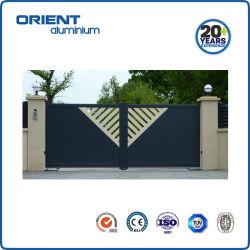 Cancello vialetto in alluminio a doppia oscillazione