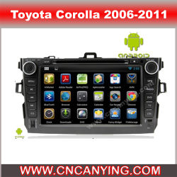 Lettore DVD dell'automobile per il lettore DVD di Pure Android 4.4 Car con A9 il CPU Capacitive Touch Screen GPS Bluetooth per Toyota Corolla (AD-7628)