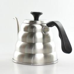 Col de cygne, Kettle 40oz Café versez sur la bouilloire avec thermomètre intégré Bouilloire en acier inoxydable Café Théières Triple Base en couches Café bouilloire ESG13851