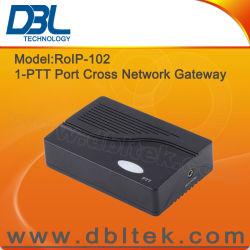 DBL 십자가 통신망 RoIP VoIP 게이트웨이 RoIP-102 (1개의 PTT 포트)
