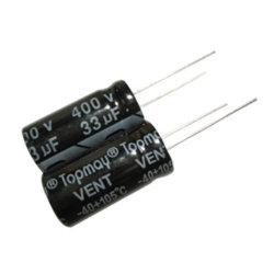 33UF 400V 알루미늄 전해질 축전기 2000hrs