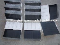 壁および床のための磨かれた黒い大理石のタイル