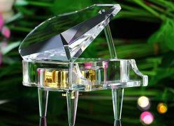 Красивый подарок на Рождество пианино Crystal & влюбленных подарок
