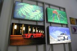 Натяжение ткани светодиодный индикатор Seg окно для выставки подставка для дисплея