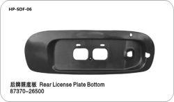 Plaque minéralogique arrière en bas pour la Hyundai Sonata OEM n° 87370 26500