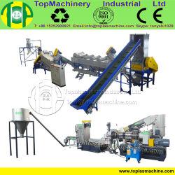 Aço inoxidável do tipo máquina de reciclagem da película de LDPE