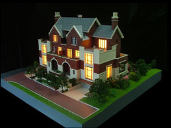 Modelo de arquitectura de villa residencial (JW-347)