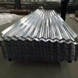Commerce de gros tôle de toit en tôle ondulée en acier galvanisé