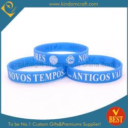 Preço baixo 100% algodão Logotipo Impressão Natural pulseiras banda