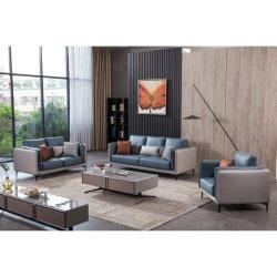La Italia moderna de muebles hogar 1+2+3 plazas piel Conner sofá de la sala