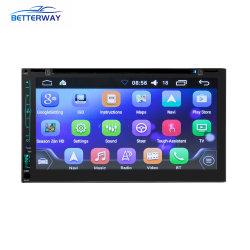 2 DIN Carro Android MP4 MP5, Leitor de DVD 6,95 polegadas de ecrã táctil estéreo multimídia player de vídeo Bluetooth USB WiFi carro MP5, rádio leitor