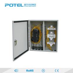 Для использования вне помещений IP55 оптоволоконным кабелем 12 24 36 48 72 ядер распределительная коробка для прекращения разветвитель с программируемым логическим контроллером