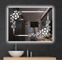 Inicio Productos Wholesale moderno antiguos rectángulo con pantalla LED Espejo