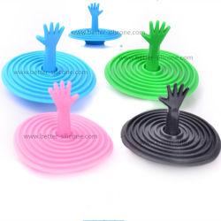 주조된 EPDM 실리콘고무 목욕 수채 플러그 마개