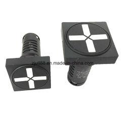 Square/Round 22mm a luz indicadora do LED para o isolamento da Posição do Freio