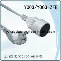 VDE шнур питания Setsy003/Y003-Zfb (Y003/Y003-ZFB)