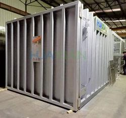 4 Enfriamiento rápido de funcionamiento automático de palets de maquinaria agrícola, equipos de refrigeración de grandes equipos de refrigeración vegetal antes de cámaras frigoríficas