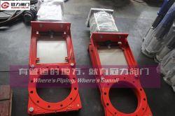 광산 Cinder용 Kgd 중부하 작업용 슬러리 나이프 게이트 밸브