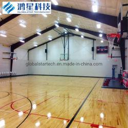 Gymnase de l'usine chinoise de bâtiments préfabriqués salle de gym en acier galvanisé économique construire