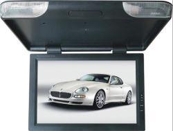 Montage sur toit de voiture 22pouces Rabattre Moniteur LCD avec horloge et le voyant LED