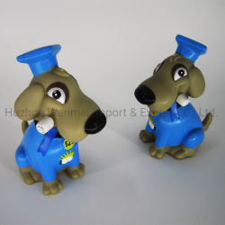 Настраиваемый логотип пластиковые собака имеет ступенчатую конструкцию монеты Банка экономии денежных средств в салоне