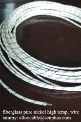 Filo intrecciato in fibra di vetro isolato in gomma siliconica per alte temperature UL 3122