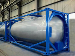 Het Water van het Roestvrij staal van de Rang van het voedsel wint de Vloeibare Container van de Tank van ISO