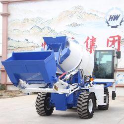 1,8 metros cúbicos de alimentación automática de camiones hormigonera pequeña