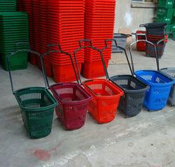 Supermarché Panier en plastique pratique de stockage avec la Chine fabricant