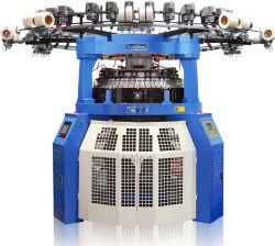 Tissu de Forfashion 3D de machine à tricoter de jacquard de côte de transfert