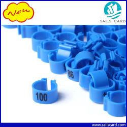 Anelli Per Clip In Plastica Stampati Con Numero Laser