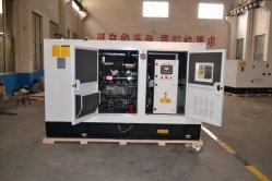 저소음 유형 방음 200kVA 워터 쿨레트/전력/전기/산업용 디젤 발전기 세트(퍼킨스 포함) 엔진