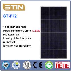 polykristalline Silikon-Solarzellen des Hauptleitungsträger-320-340W 12