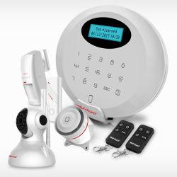 Allarme senza fili intelligente di obbligazione domestica di GSM dello scassinatore di furto della mini casa di formato anti