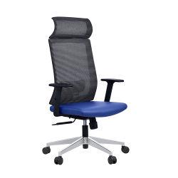 Commerce de gros meubles chaise de bureau pivotant de luxe milieu dos Mesh Retour Chaise de tâche