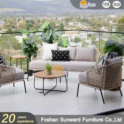 Hot Sale modern Outdoor Garden Hotel Leisure Polyester touw banken